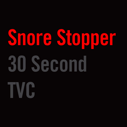Snore Stopper 30s TVC